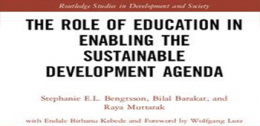 The Role of Education in Enabling the Sustainable Development Agenda