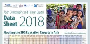 Asian Demographic and Human Capital Data Sheet 2018
