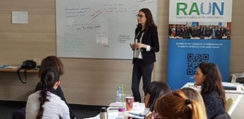 Wittgenstein Centre contributes a workshop to Regional Academy on the United Nations (RAUN)