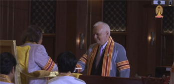 Sergei Scherbov receives Honorary Doctoral Degree in Liberal Arts