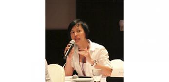 Raya Muttarak at the UNESCO climate change conference