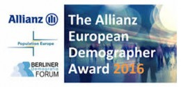Tomas Sobotka receives the Allianz European Demographer Award 2017