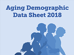 Aging Demographic Data Sheet 2018