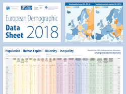European Data Sheets 2018, 2016, 2014, 2012