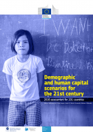 Demographic and human capital scenarios for the 21st century